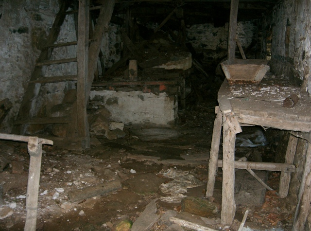 326 Athos 2007  ruine watermolen