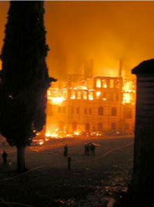 447 - The Chilandariou fire in 2004