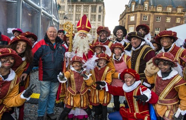 Sinterklaasfeest bij de groote Cub