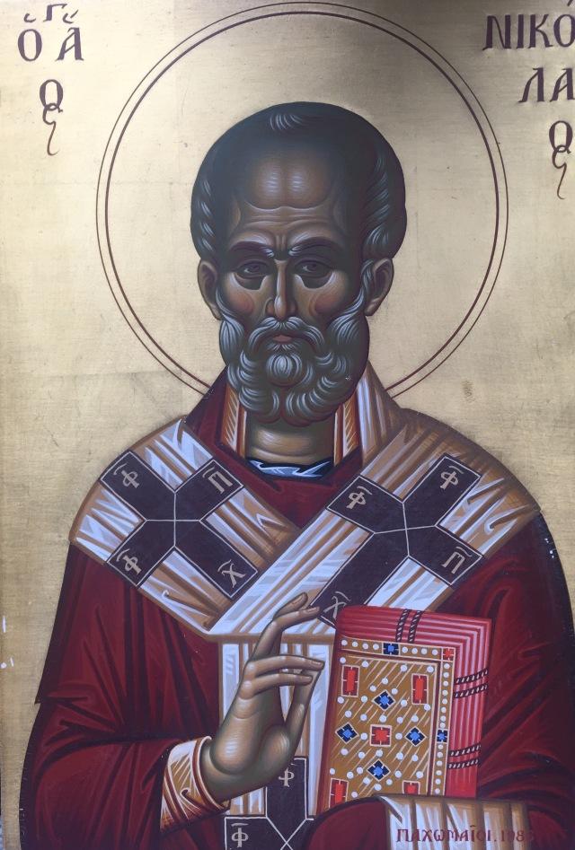 icon Agios Nicolaos