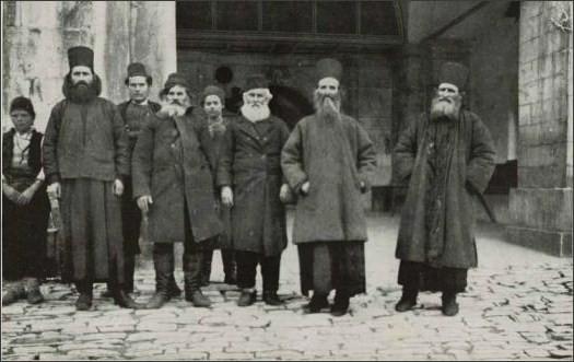 NG - monks and layman Athos 1916