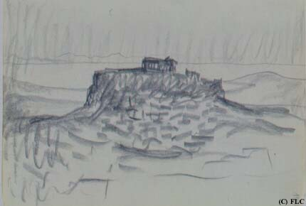 le corbusier Akropolis