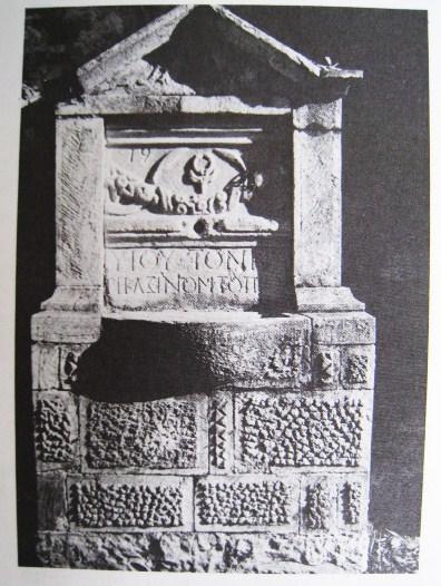 Arsanas Dochiariou part of a Bukranioin a well