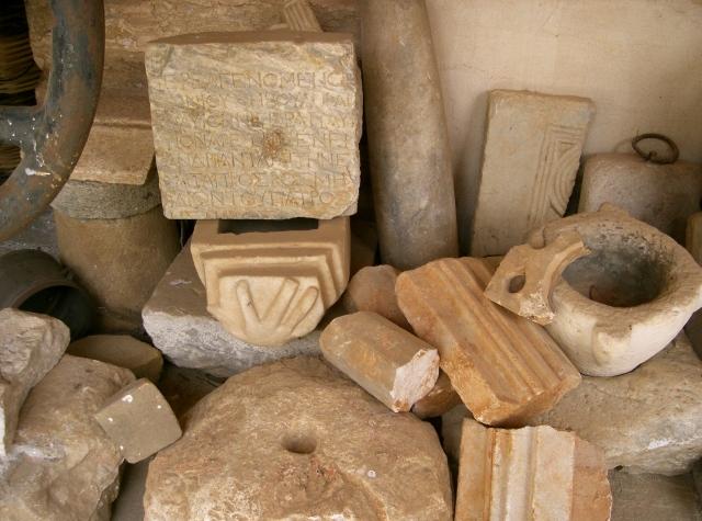 Lavra Athos 2007 Lavra antieke stenen
