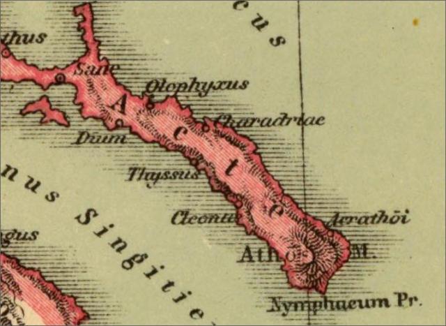 map 1903 Kiepert hist