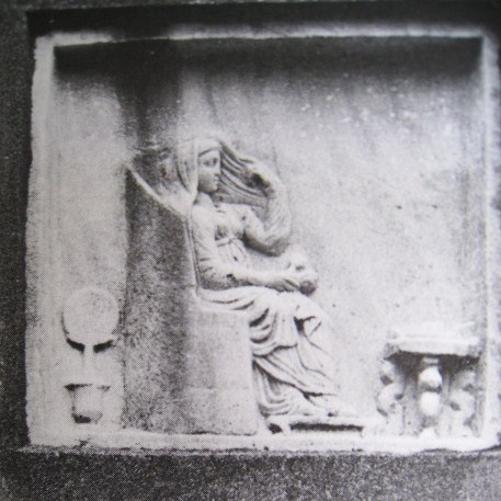 Xiropotamou - grave stone from Apollonia Thea ekali