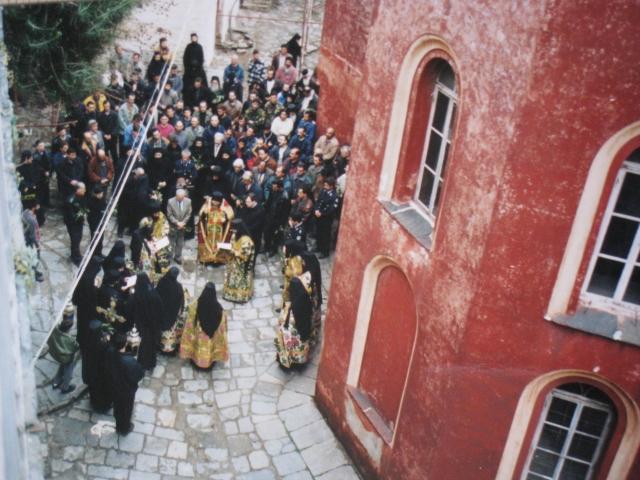 037 Vatopediou bezoek minister