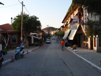 Ouranopoli_hoofdstraat