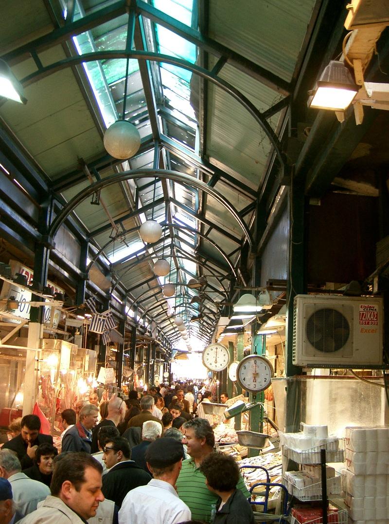 Vlali (Kapani) Market