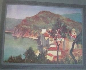 Perilla esfigmenou painting