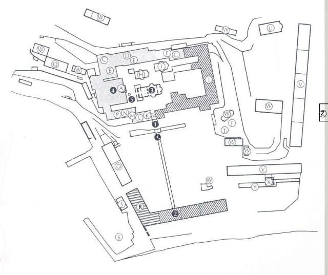 Panteleimonos plattegrond