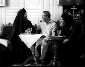 1021 - Prince Charles in a Chilandariou/Athos slide show