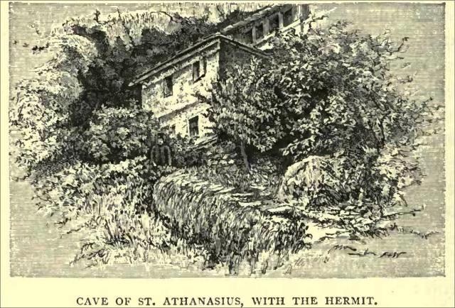 cave of St Athanasius