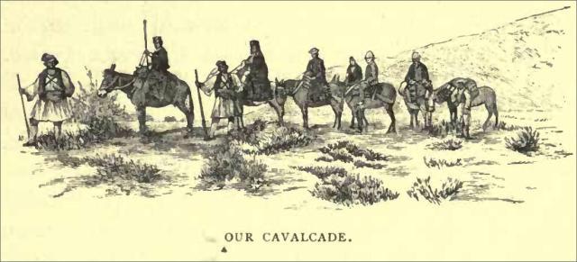 our cavalcade