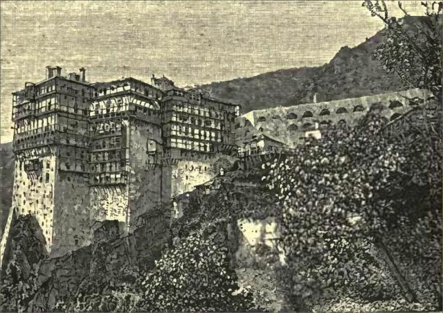 Simonospetras gardens