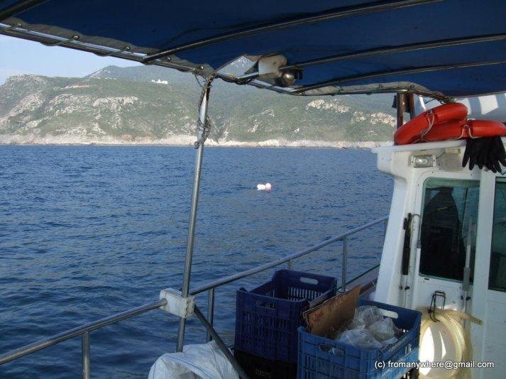 9Roman - skiti Prodromou and boat