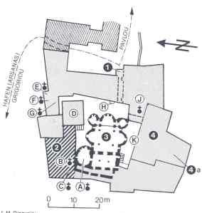 Dionysiou plattegrond