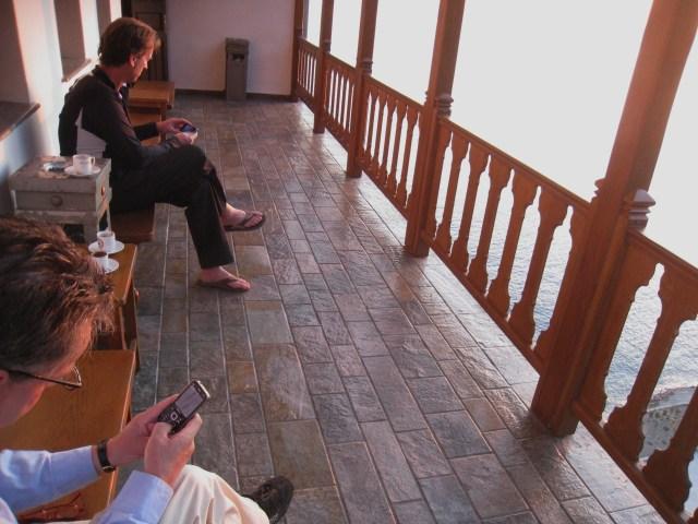 IMG_3485 Dionysiou balcony and cellphones