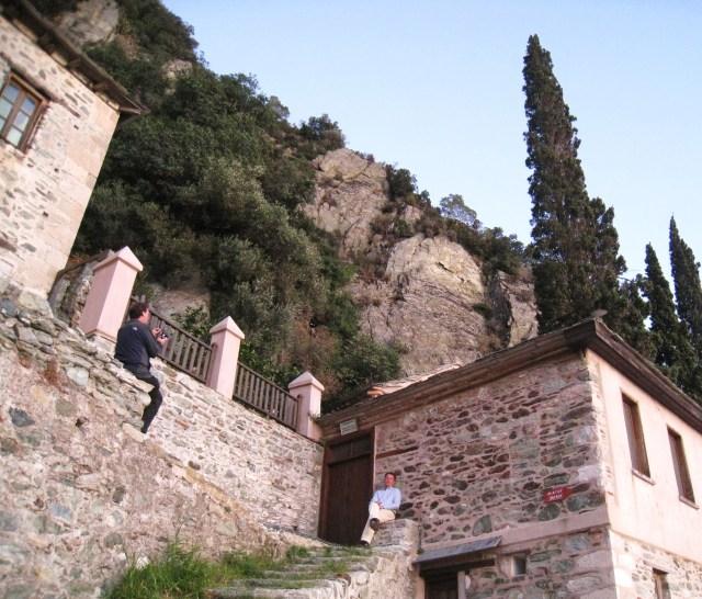 IMG_3500 Dionysiou buildings of the ossuary