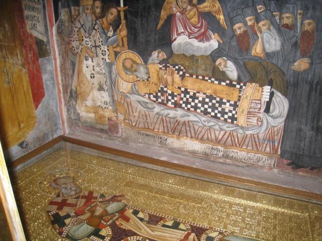 IMG_3502 Dionysiou - the shrine of Ag Nifonos