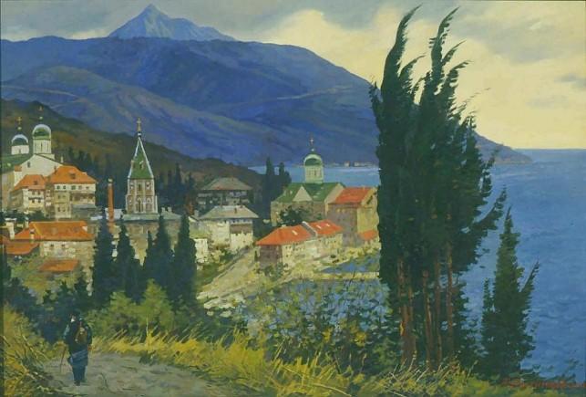 Aleksei-evstigeniev-the-russian-monastery-of-st-panteleimon-on-mount-athos-1999-e1271963562510