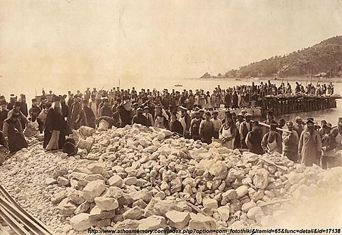 Panteleimon construction of the pier