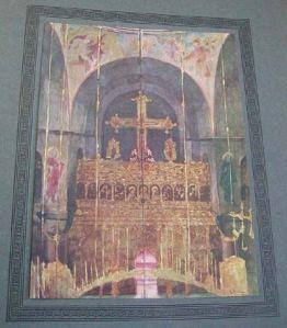 Perilla Vatopedi interiour church