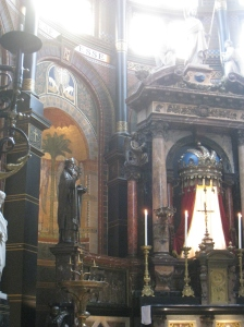 Church of st Nicolaas Amsterdam interior