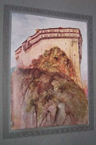 Perilla Simonospetras watercolor