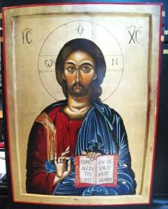 Dutch icon of Jezus