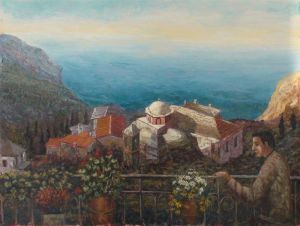 Laskaris a-pilgrim-in-mount-athos