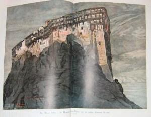 L'ILLUSTRATION SPÉCIAL NOËL 1920 MONT ATHOS Simonospetras