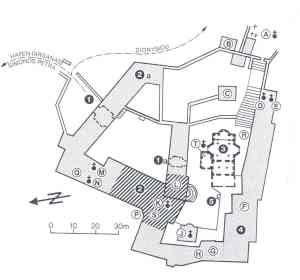 Grigoriou plattegrond