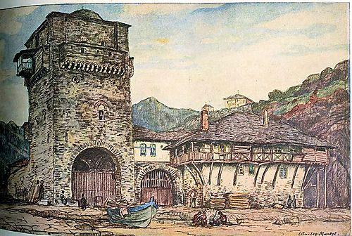 L'ILLUSTRATION SPÉCIAL NOËL 1920 MONT ATHOS Arsanas Iviron