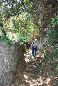Path Stavronikita to Pantokratoros
