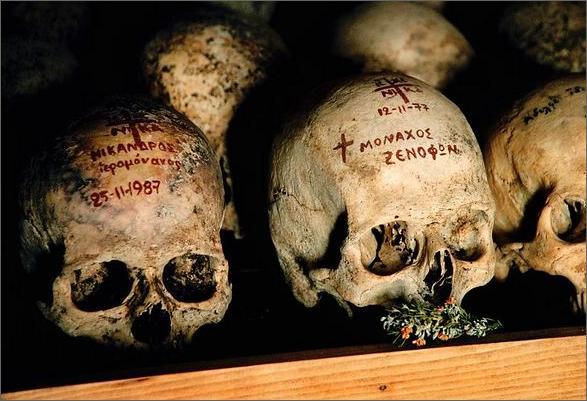 Xenofontos skulls