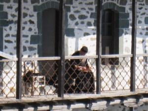 IMG_3624 Simonospetras monk on balcony