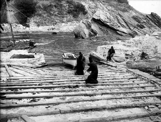Athos 1914-18 Lavra arsanas
