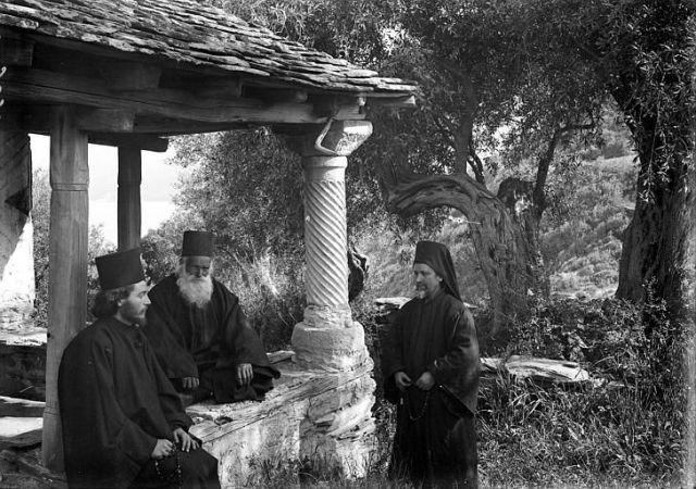 Athos 1914-18 Lavra