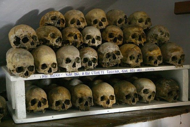Bogoroditsa skulls