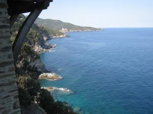 IMG_3641 Stavronikita - view towards Pantocratoros