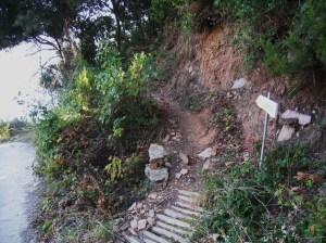 IMG_3645 Stavronikita - path to Iviron