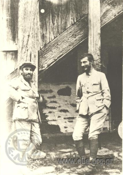 Stratis Doukas (1895 - 1983) and Spyros Papaloukas 1924