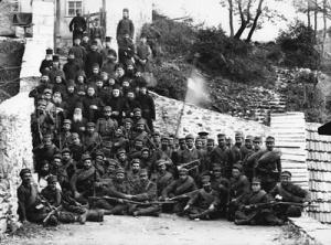 Athos 25 november 1912 greek army
