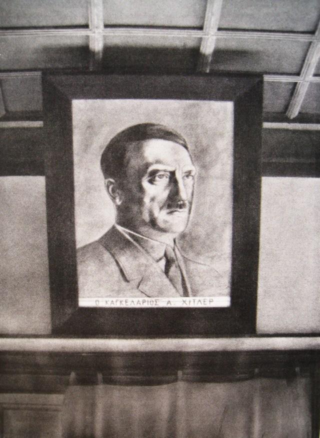 Dolger - Konstamonitou Portret Hitler