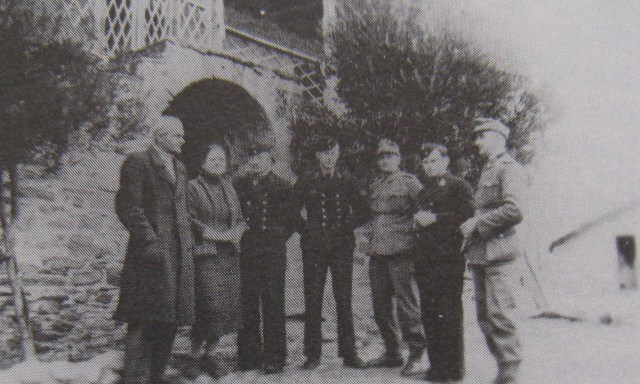 Ouranopolis 23 4 1944 Germans and greek police