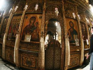 Iviron iconostasis