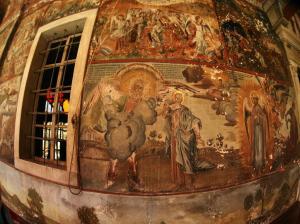Iviron exonarthex fresco Apocalips