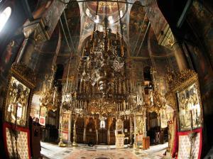 Iviron inside katholikon