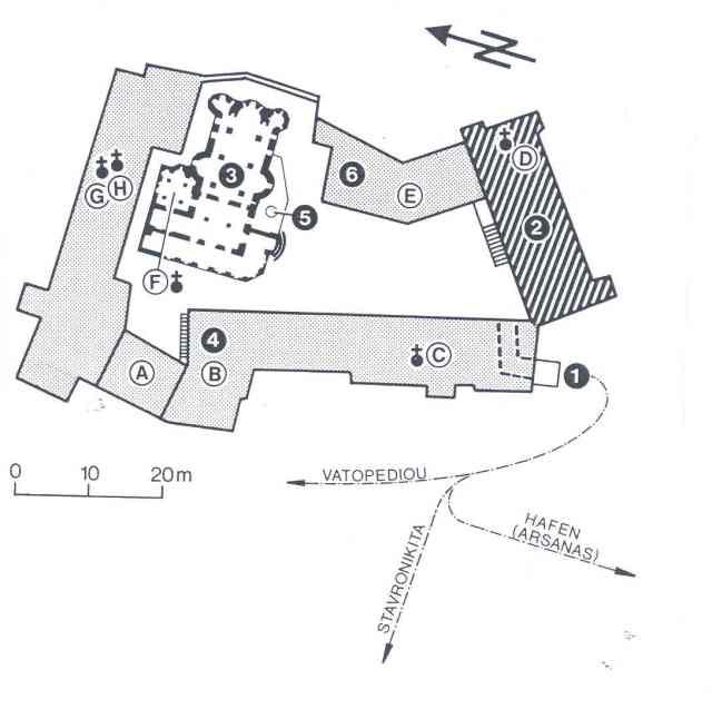 pantokratoros-plattegrond